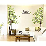Miihome Removable Wall Decor Sticker - Lover Tree