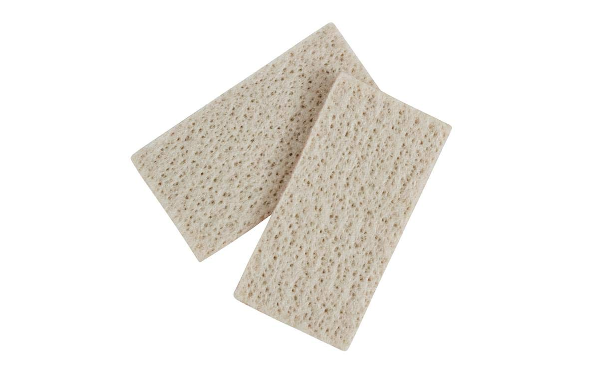 Pack of 10 1-51//64 Length x 29//32 Width x 0.15 Thick Walter 54B040 Classic Standard Cleaning Pad