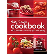 Betty Crocker Cookbook, 11th Edition: The Big Red Cookbook  (Comb-Bound)