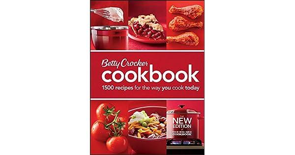 Amazon.com: Betty Crocker – Libro de Recetas, 11 ª Edición ...