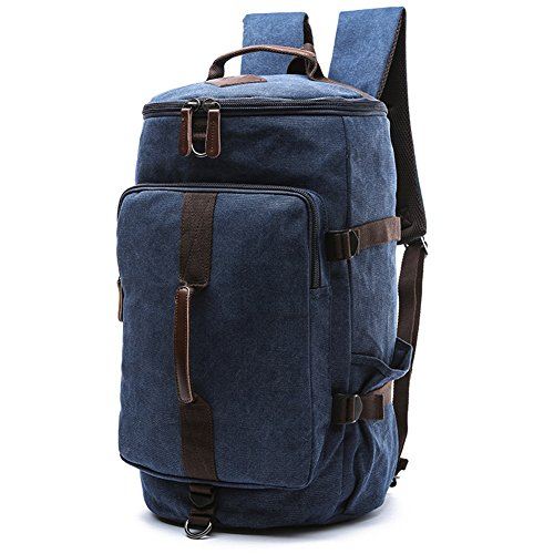 1407df6a15 Canvas Backpack Travel Duffel Bookbag product image. Score: 9.4. Price: $$.  Unisex Canvas Backpack Travel Backpack Bag ...