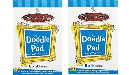 Melissa Doug Doodle Pad Pads