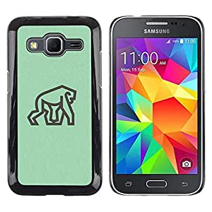 Smartphone duro funda protectora para Samsung Galaxy Core Prime/funda TECELL tienda/gorila