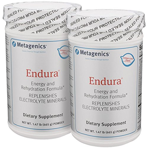 Metagenics Endura Lemon-Lime Powder 1.47lbs 19 servings – TwinPak