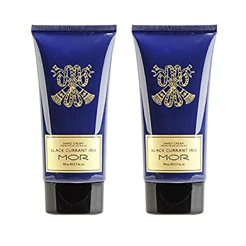 2x MOR Essentials Hand Cream 80ml X2=160ml Rich Lotion Black Currant Iris
