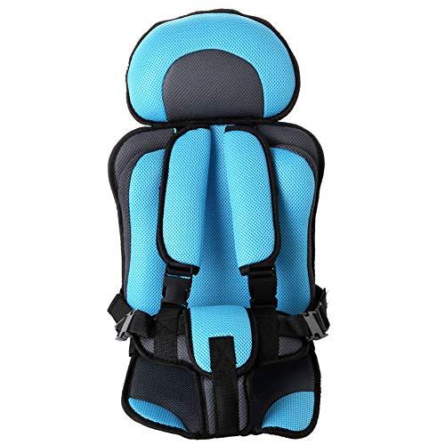 Hadeyicar Portable Baby Seat Adjustable Seat Child Child Baby Seat Car Thickening Baby Stroller Seat Cushion 0-5Y,Blueblack