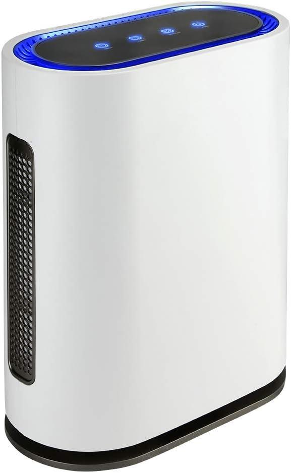 gridinlux | OZONO | Filtro HEPA | Generador de Ozono Inteligente| Purificador Aire | 4 Filtros Alta Eficiencia | Luz Ultravioleta | Mando a Distancia | Sensor de contaminación | 4 potencias | 60W