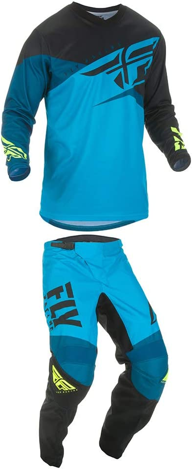 Fly Racing F-16 Jersey//Pant Set XL//32 BL//BK//Hi-Vi