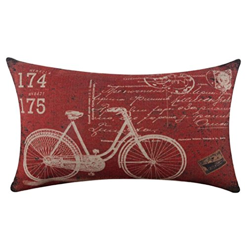 tenworld-burlap-linen-bicycle-decorative-throw-pillow-case-cushion-covers