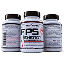 Natural Energy Pills - Focus, Memory, and Concentration – FPS Energy Supplement For Men and Women – Brain Booster Nootropic – Reduce Stress, Support Good Mood – Clinically Formulated(30)