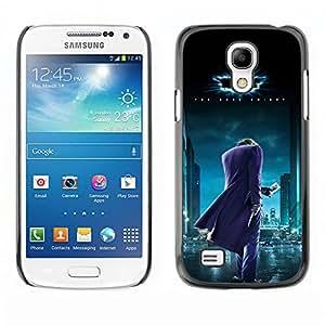 Ihec Tech BAT SUPERHERO / Funda Case back Cover guard / for Samsung Galaxy S4 Mini i9190