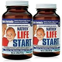 Natren Dairy Probiotic Powder for Infants - 1.25 Oz x 2 Pack