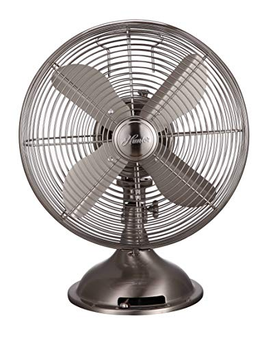 Metal Fan - Hunter Home Comfort Hunter Retro Table Fan, 12