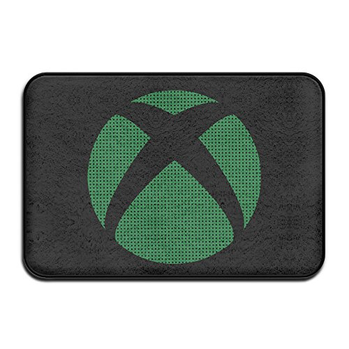 XBOX Video Game Logo Doormat And Dog Mat ,40cm60cm Non-slip Doormats,Suitable For Indoor Outdoor Bathroom Kitchen Doormat And Pets (Cape Cod Braided Rugs)