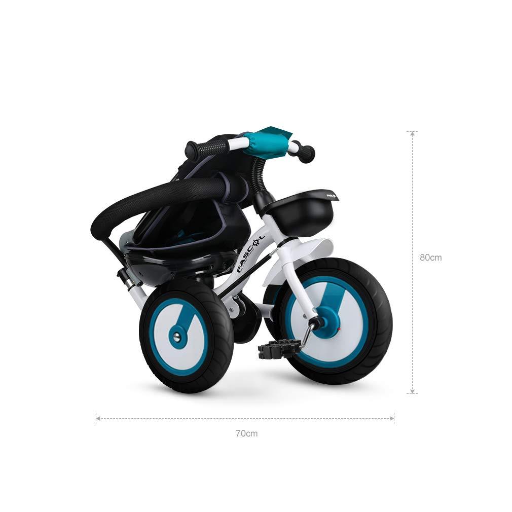 eae2077b2 ... Fascol Triciclo Bebé Plegable 4 en 1 Trike Trike Trike Bicicleta para  Niños de 6 Meses ...