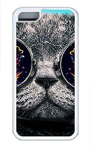 linfengliniPhone 5c case, Cute Cat 26-Wallpaper iPhone 5c Cover, iPhone 5c Cases, Soft Whtie iPhone 5c Covers