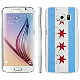 [ArmorXtreme] Phone Case for SAMSUNG GALAXY S6 [Matte] [Ultra Slim Cover Case] - [Chicago Flag]