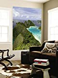 View of Islands Covered With Vegetation, Raja Ampat, New Guinea Island, Indonesia Wall Mural 48 x 72in