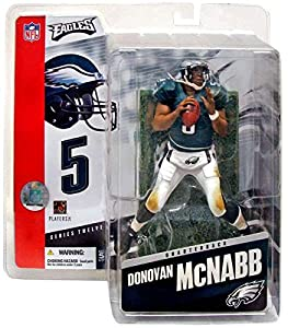 DONOVAN MCNABB / PHILADELPHIA EAGLES * GREEN JERSEY * McFarlane 6 Inch NFL SERIES 12 Sports Picks Action Figure by Sports Pics