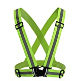 GOGO Adult Wholesale Reflective Vest For High Visibility, Motorcycle Jacket/Running Gear/Shirt-NeonGreen-50PCS