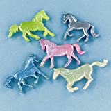 Pearlized Squishy Horses - 24 per pack