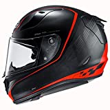 HJC Pro Riberte Men's RPHA 11 Street Bike Motorcycle Helmet - MC1SF Large