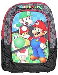 Nintendo Super Mario Backpack With Mario In Relief