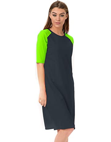 9c879ae41 Sollissa Women's Runner Swim Dress- UV Protection Cover Up Comfort Fit and  Fast Dry Swimming