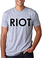 Riot T shirt Funny Shirts for Men Political Novelty Tees Humor