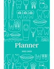 Planner 2022-2023: Agenda for Dentists, Dental Hygienists Assistants Therapists, Gift for Dental School Students, Weekly and Monthly View Planner