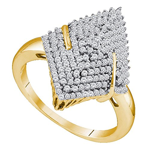 10k Gold Cocktail Rings - 5