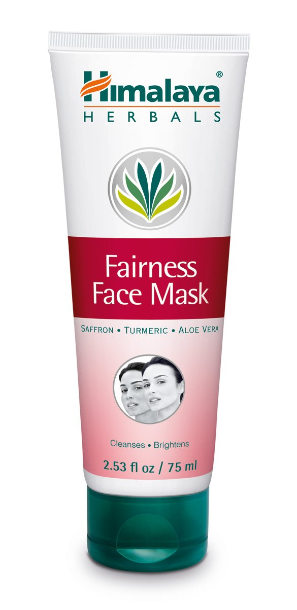 Himalaya Radiant Glow Fairness Face Mask with Saffron, Turmeric and Aloe Vera for Bright and Radiant Skin 2.53 oz (75 ml)