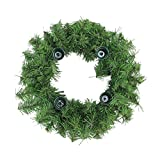 Northlight Two-Tone Pine Artificial X-Mas Advent Wreath, Green