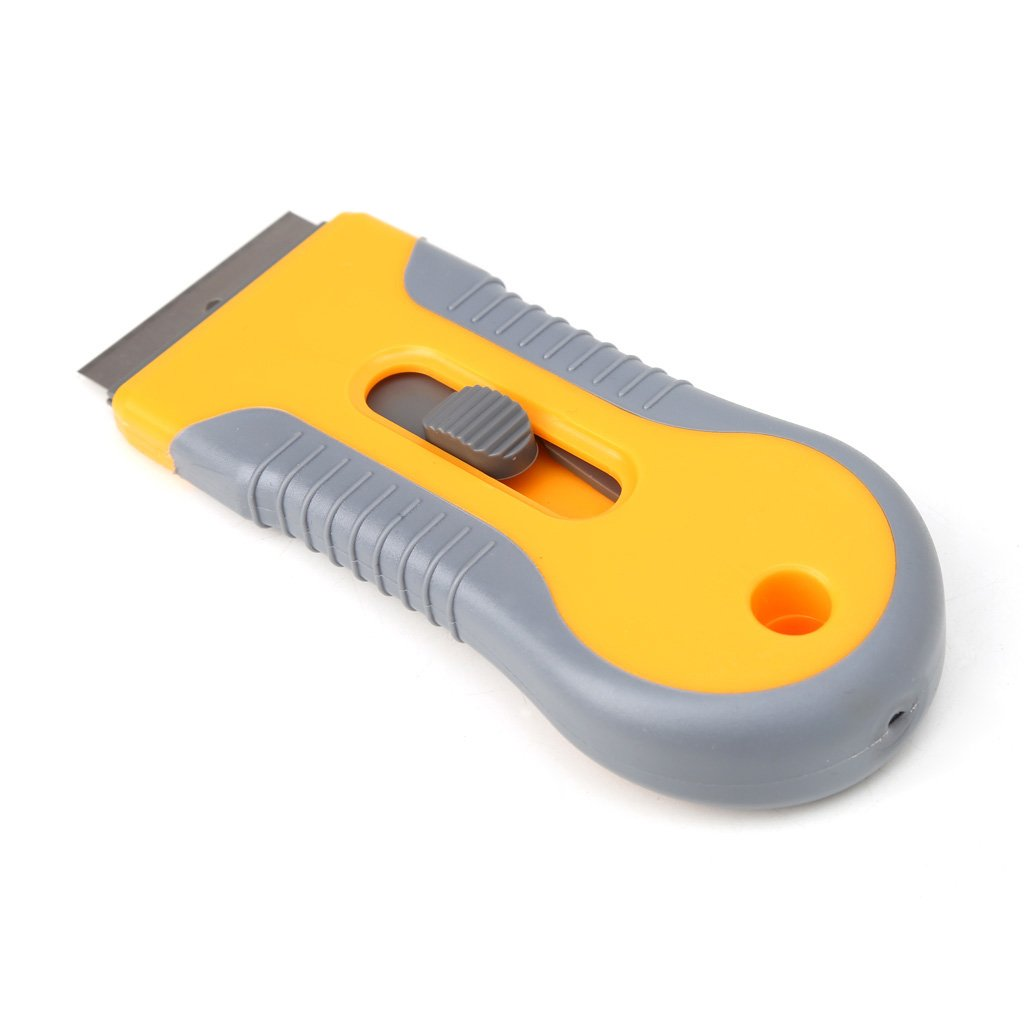 "Yziss Plastic Handle Razor Scraper Ceramic Glass Oven Window Tinting Tool 1.57"" Blade Handle Razor Scraper Ceramic"