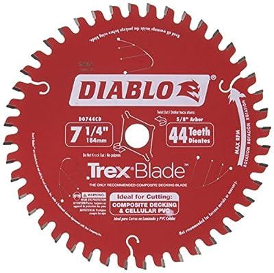 Freud D0744CD Trex Composite Decking Circular Saw Blade Ideal