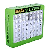 MarsHdyro Reflector48 Reflector96 Reflector144 Reflector192 LED Grow Light Veg Flower Switchable Spectrum (Reflector48 the 102W True Watt Panel)