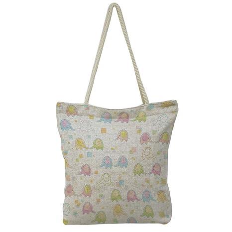Amazon.com   iPrint Handbag Cotton and Linen Shoulder Bag Leisure Fashion 21579c3c0c99a