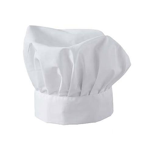 Fratelliditalia Cappello Cuoco Chef ristorazione Cucina pizzaiolo Pizzeria  Cotone Colore Bianco b1be468183c3