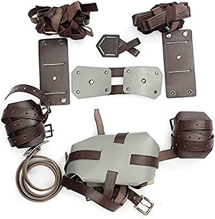 Cosplay Attack On Titan Shingeki no Kyojin Adjustable Straps Harness Recon  ~