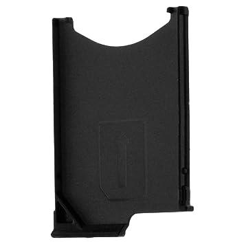 Avizar-Soporte para tarjeta SIM Nano para Sony Xperia Z, color negro
