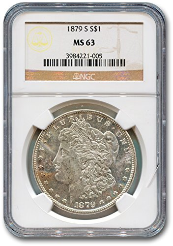 1879 S Morgan Dollar NGC MS-63