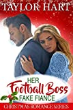 Her Football Boss Fake Fiance: Sweet Brother's Christmas Romance (Brady Brother Romances Book 4)