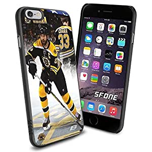Boston Bruins NHL, WADE1339 Hockey iPhone 6 4.7 inch Case Protection Black Rubber Cover Protector