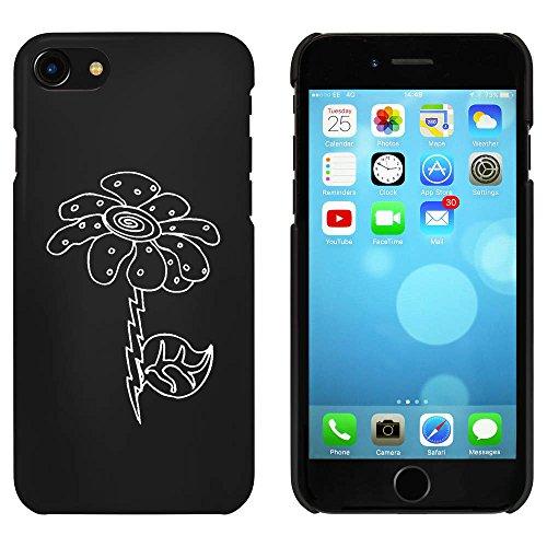 Noir 'Marguerite' étui / housse pour iPhone 7 (MC00066075)