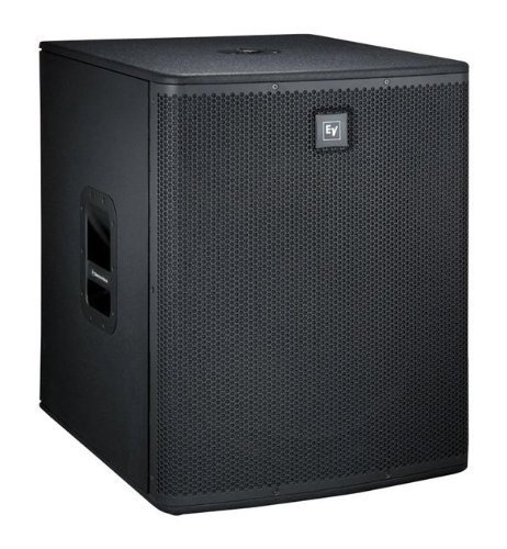 Electro-Voice ELX118P Powered 18-inch subwoofer 700 Watt Amplified Woofer System w/Rugged wood cabinet + Free Ev Cover and XLR 15ft cable