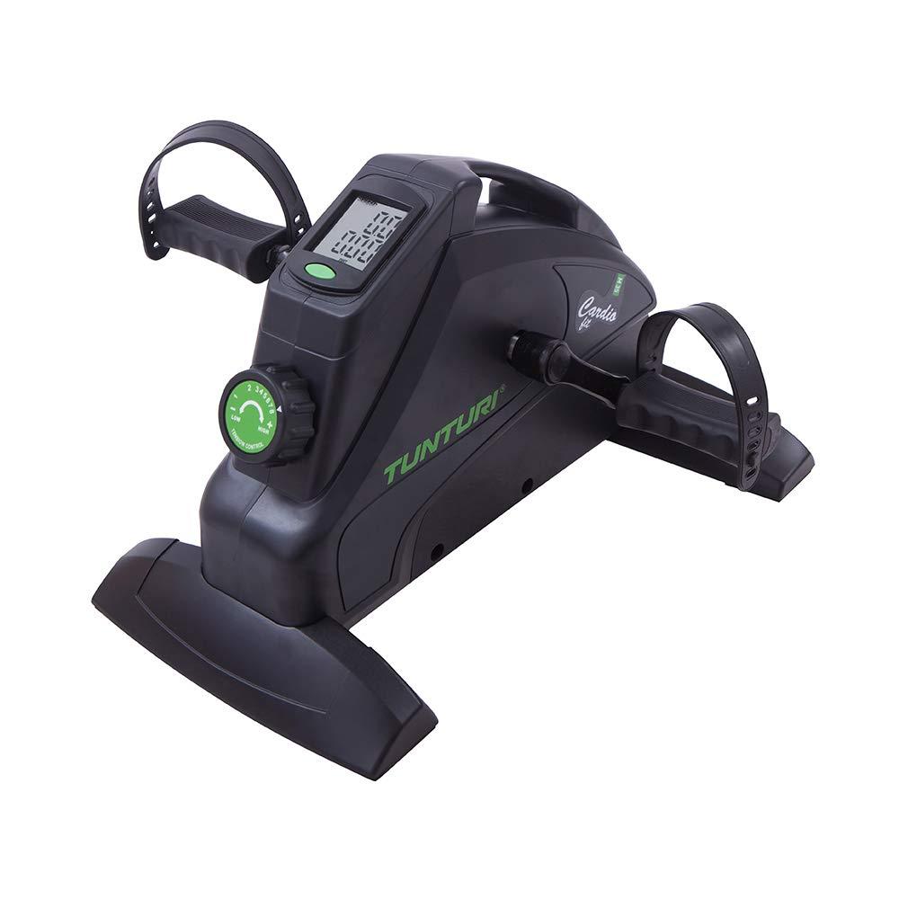 Arm und beintrainer Tunturi Cardio Fit M35 Mini Bike Heimtrainer Bewegungstrainer f/ür senioren mit Magnetbremssystem und LCD-Bildschirmanzeige Schwarz Minifahrrad Pedaltrainer