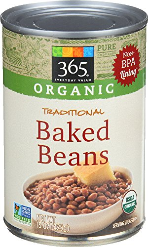 365 Everyday Value, Organic Traditional Baked Beans, 15 oz
