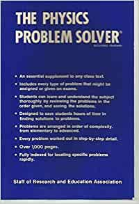 the physics problem solver m fogiel amazon com books