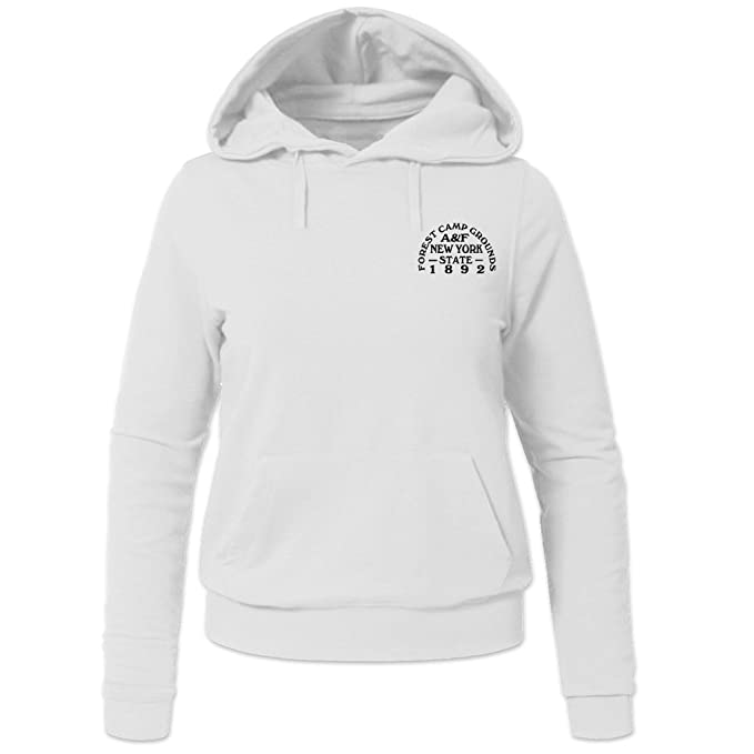 Abercrombie & Fitch womens Casual Pullover Sweatshirt Hoodie