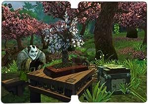 Cubierta de cuero y caja de la PC funda / soporte para funda de Apple iPad Mini 1,2,3 funda Con Magnetic reposo automático Función de despertador DIY por World Of Warcraft Q6B1Ee7X3Ys